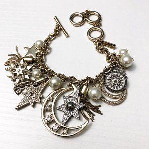 White House Black Market Celestial Charm Bracelet